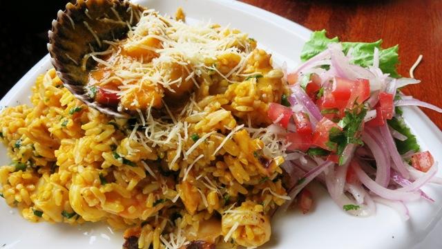 javier restaurant barranco arroz mariscos