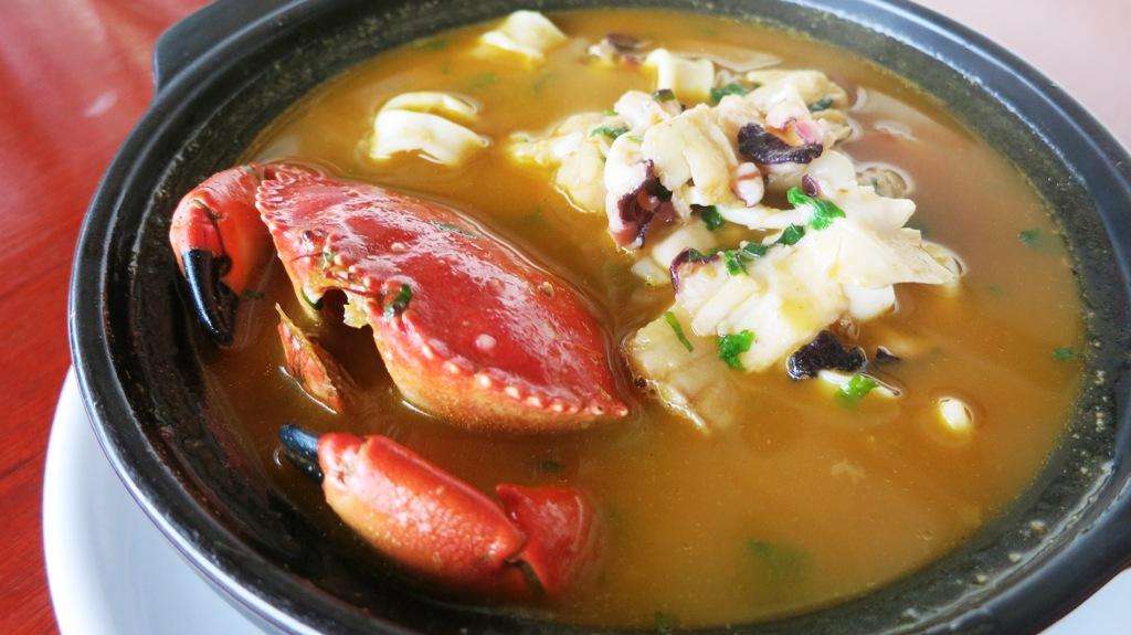 javier restaurant barranco parihuela soup