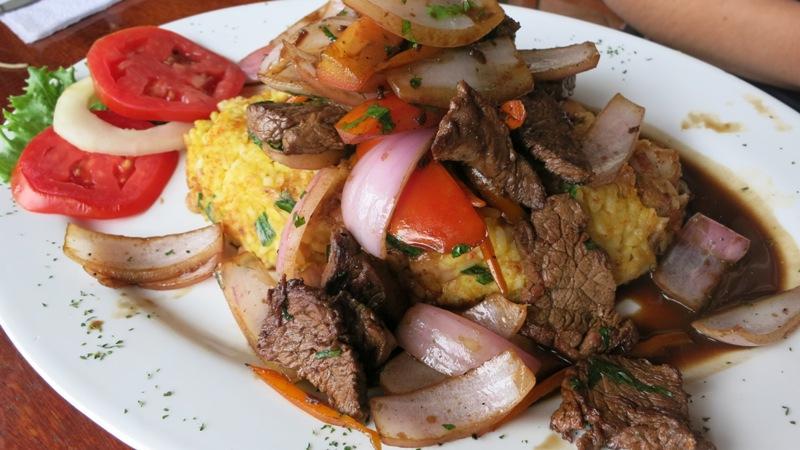 javier restaurant barranco tacu tacu lomo saltado