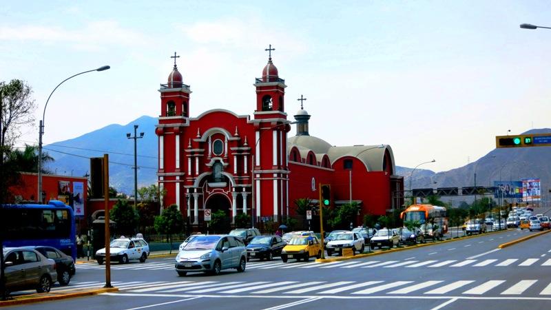 santa rosa church lima peru