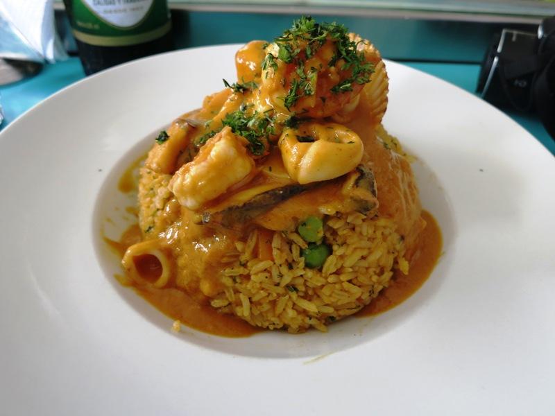 arroz mariscos jose y juanita restaurant la victoria 2