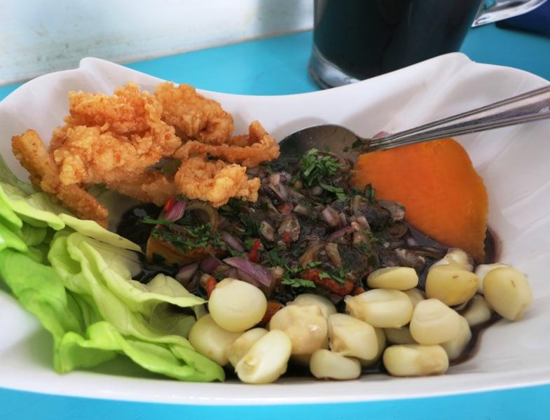black clam ceviche jose y juanita restaurant la victoria