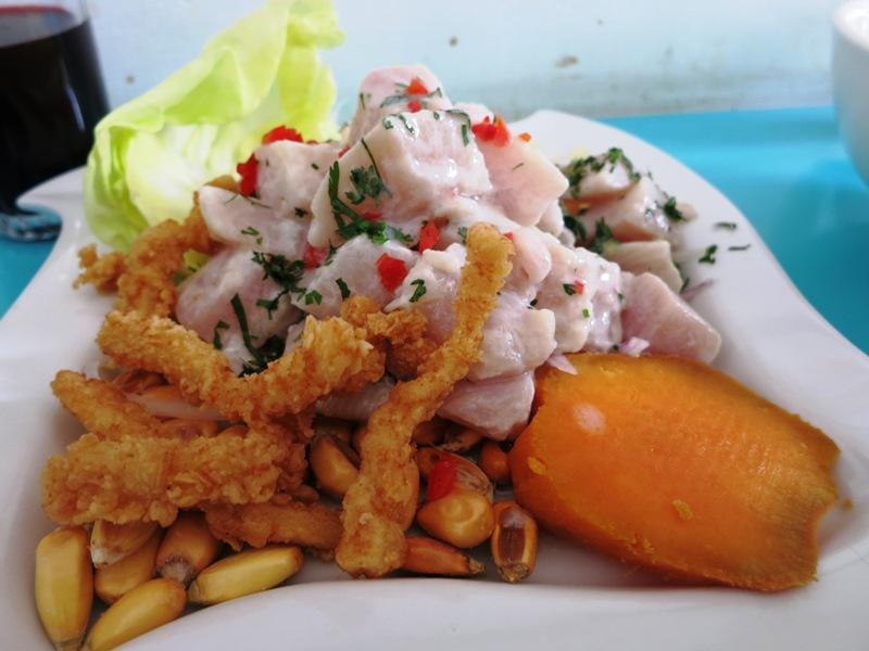 ceviche pescado jose y juanita restaurant la victoria