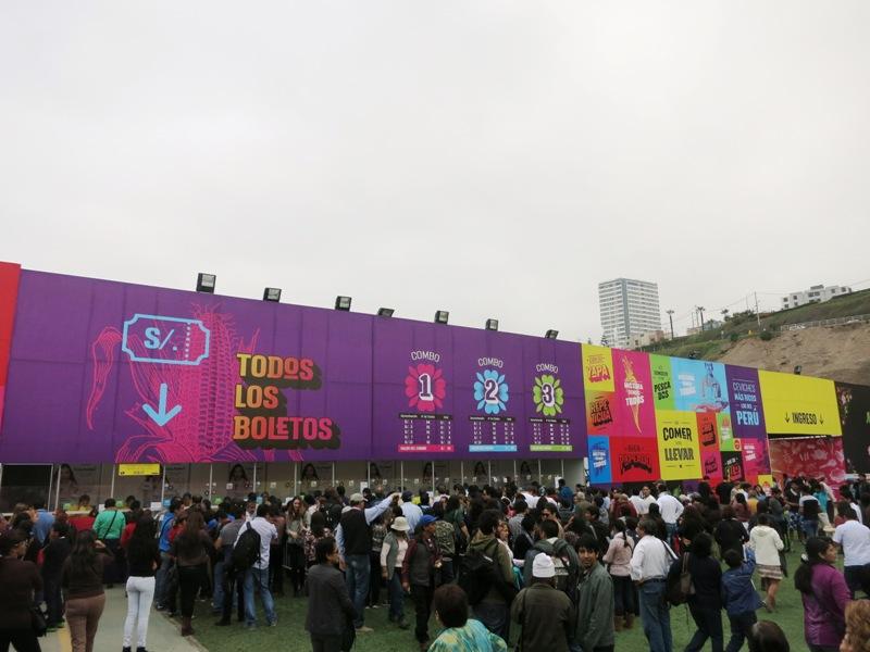 entrance mistura 2015 peru food festival 3