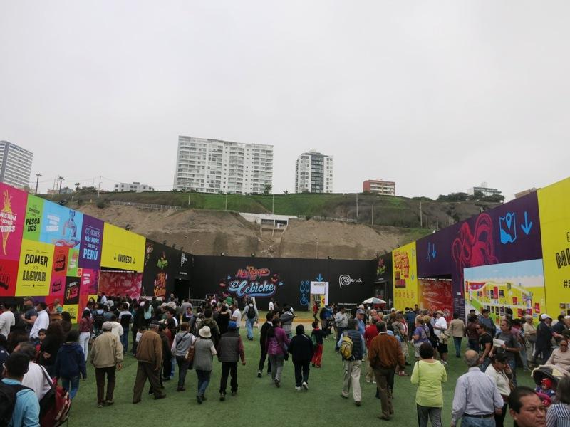 entrance mistura 2015 peru food festival 4