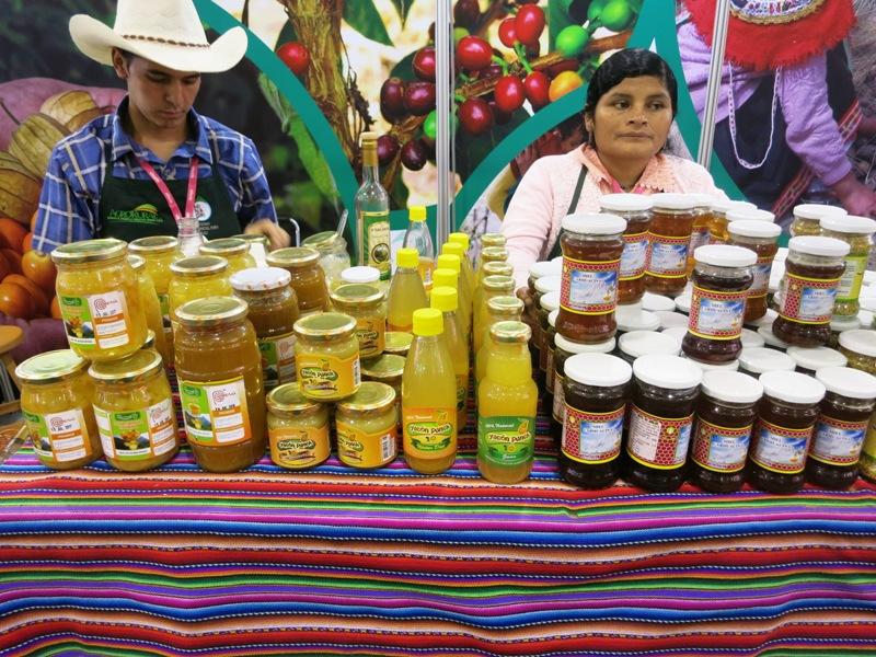 peru mistura gran mercado yacon cajamarca