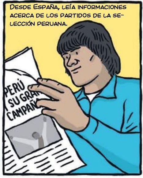 cholo hugo sotil peru soccer cartoon 1-2