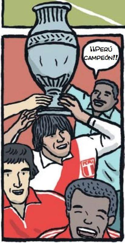 cholo hugo sotil peru soccer cartoon 5-1
