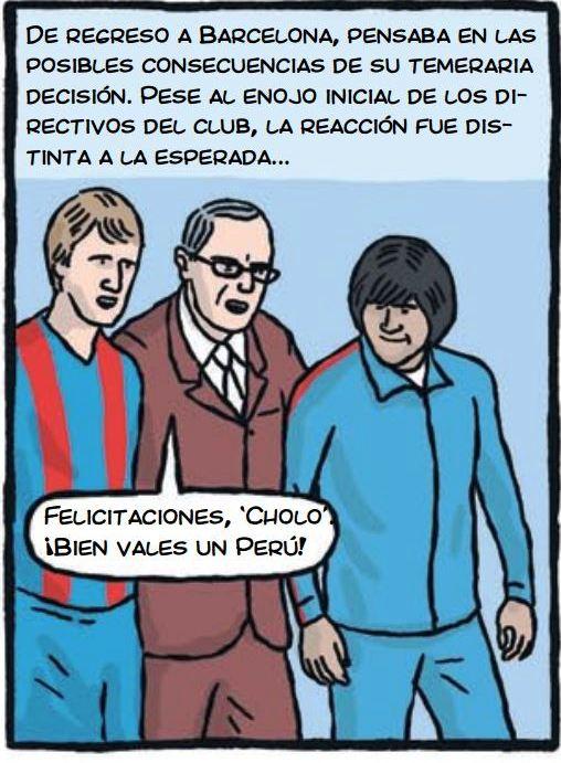 cholo hugo sotil peru soccer cartoon 5-2