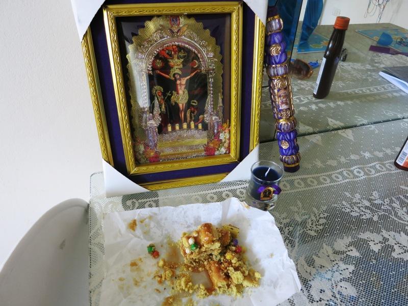senor milagros lima peru picture candles turron