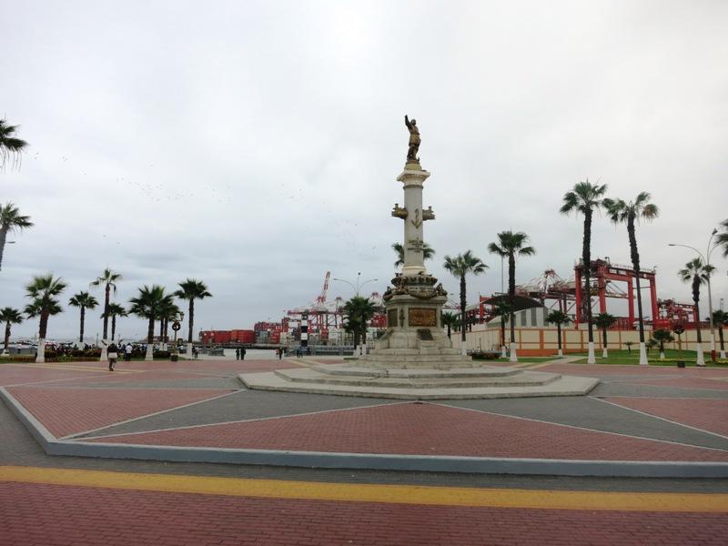 CALLAO PUNTA PERU 012 plaza grau primer puerto