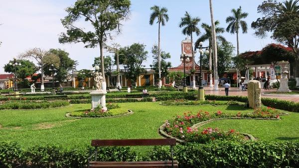 Barranco Parque Municipal Biblioteca Lima