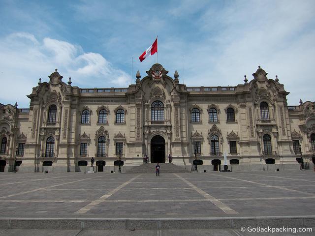 Downtown Lima Palacio de Gobierno 3