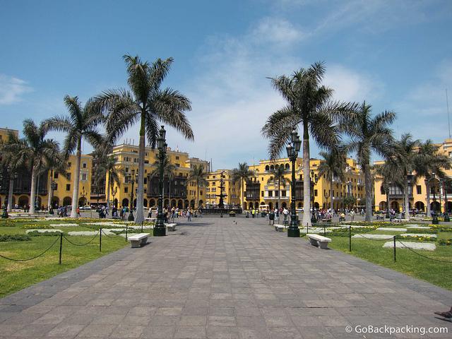 Downtown Lima Plaza de Armas 3