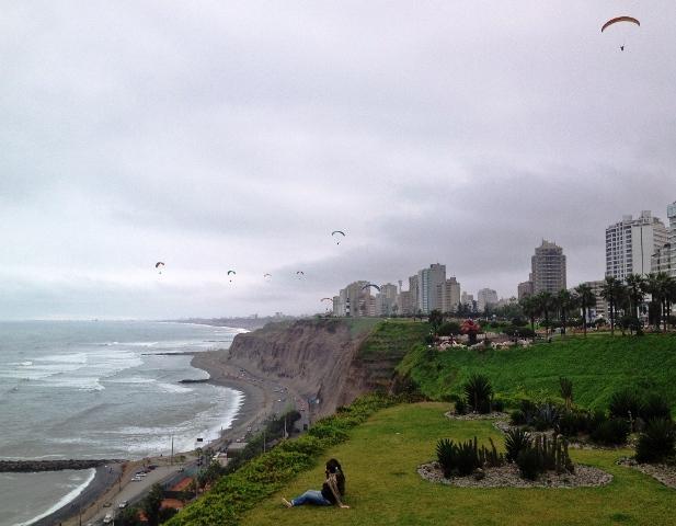 Paragliding Lima