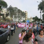 niunamenos womens march protest lima peru domestic violence abuse sexism 2