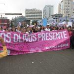 niunamenos womens march protest lima peru domestic violence abuse sexism 20