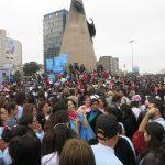 niunamenos womens march protest lima peru domestic violence abuse sexism 22
