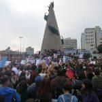 niunamenos womens march protest lima peru domestic violence abuse sexism 24