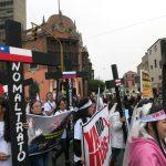 niunamenos womens march protest lima peru domestic violence abuse sexism 26