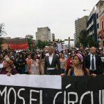 niunamenos womens march protest lima peru domestic violence abuse sexism 28