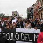 niunamenos womens march protest lima peru domestic violence abuse sexism 29