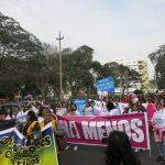 niunamenos womens march protest lima peru domestic violence abuse sexism 3