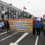 niunamenos womens march protest lima peru domestic violence abuse sexism 30
