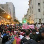 niunamenos womens march protest lima peru domestic violence abuse sexism 33