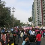 niunamenos womens march protest lima peru domestic violence abuse sexism 5