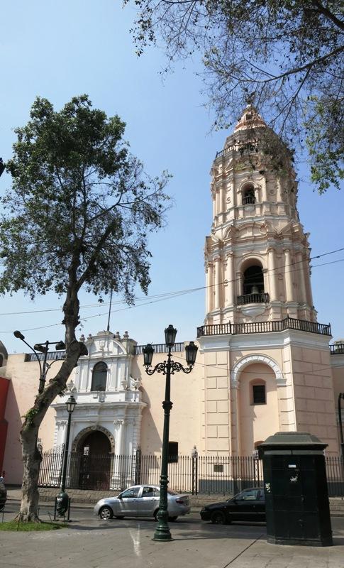 santo-domingo-church-lima-peru-bell-tower