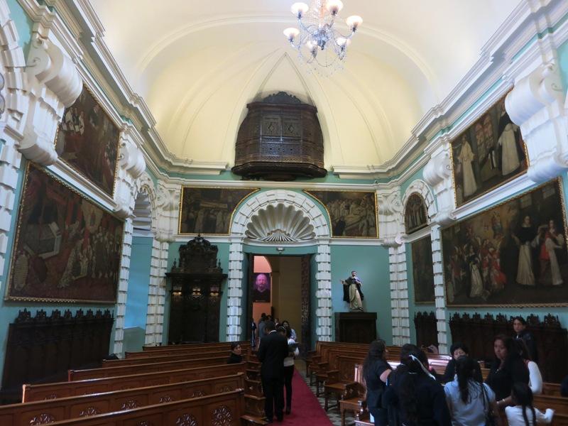 santo-domingo-church-lima-peru-sala-capitular